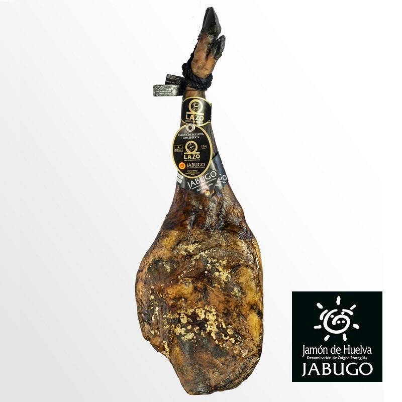 Acorn-fed 100% Iberico Shoulder Ham -Pata Negra- D.P.O. JABUGO - LAZO