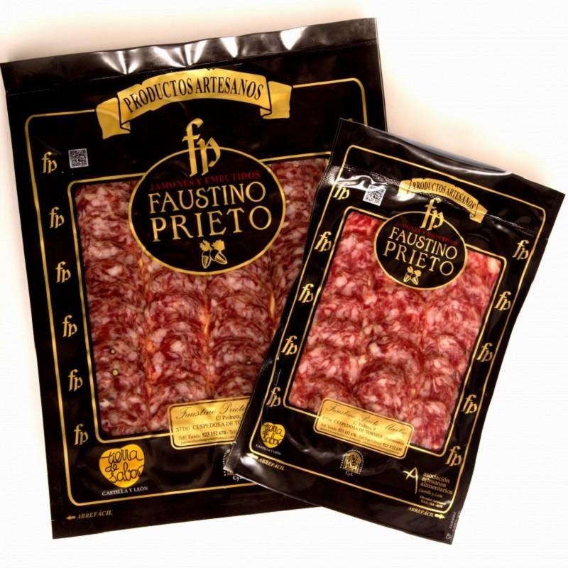 Sliced Acorn-fed Iberian Salchichón - Guijuelo