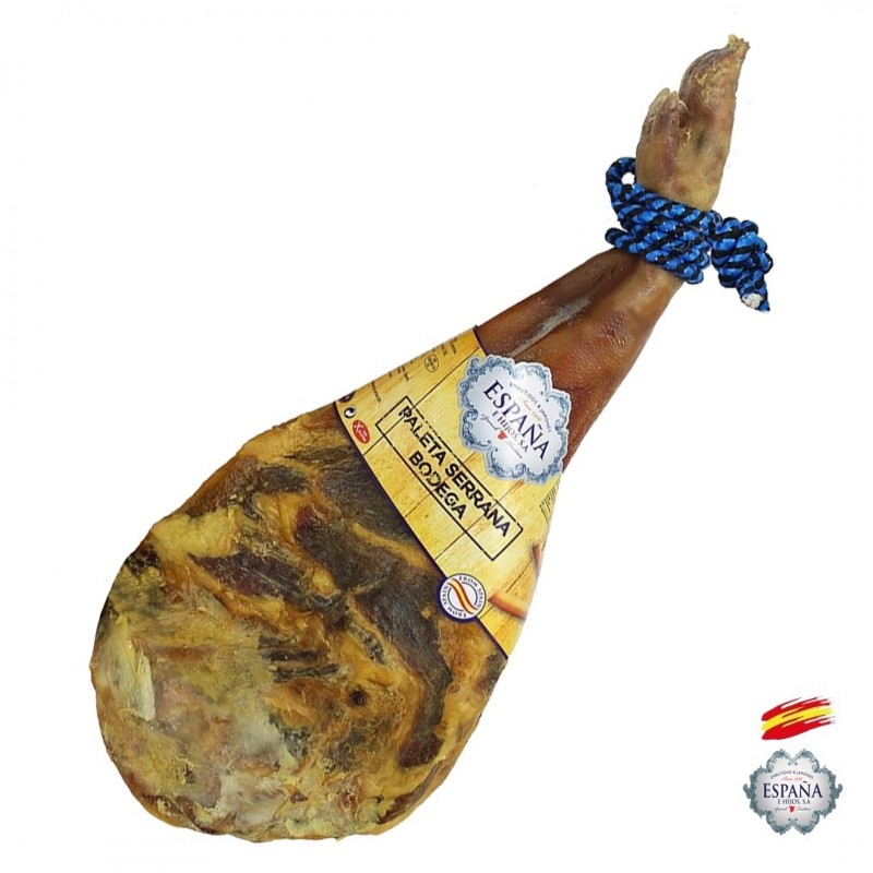 Spanish Bodega Ham Shoulder 4 /4.5 Kg – Jamones España