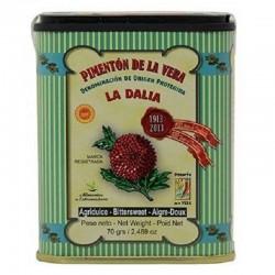 Premium Smoked Paprika  - BITTERSWEET -   DOP Pimenton de la Vera - La Dalia
